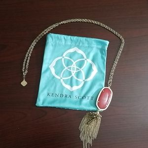 Kendra Scott long necklace with tassle